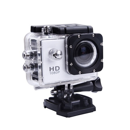 Camera video sport HD, Waterproof Action Cam