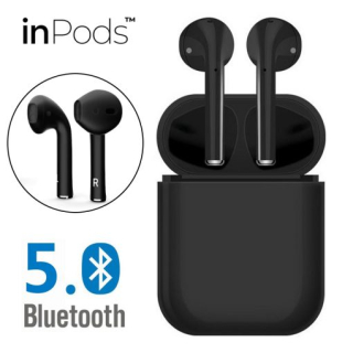 Casti Wireless, InPods 12, EarBuds, tehnologie Bluetooth 5.0, functie touch